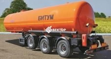 Полуприцеп цистерна НЕФАЗ для перевозки битума 96931-0110140-04