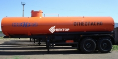 Полуприцеп цистерна НЕФАЗ для перевозки нефти 96742-0300112-04