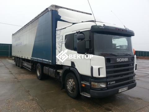 Сцепка Scania  + Berger (шторный)