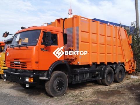 Мусоровоз HIDRO-MAK на шасси КАМАЗ - 65115