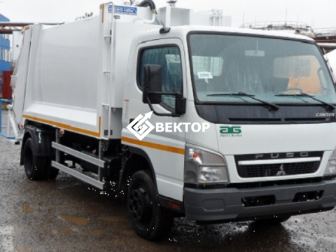 Мусоровоз HIDRO-MAK на шасси Fuso Canter 85DG