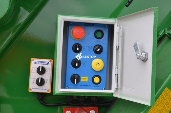 Мусоровоз HIDRO-MAK на шасси КАМАЗ - 53605