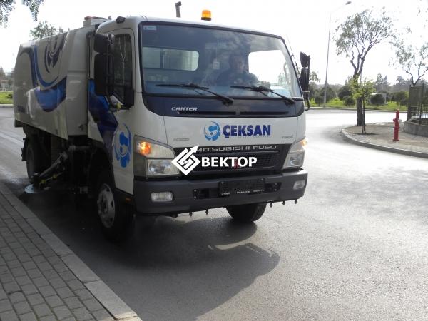 CEKSAN VKM-4000 на шасси Fuso
